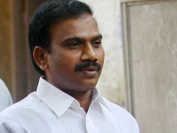 Congress and DMK bonhomie 'kills' Raja's book