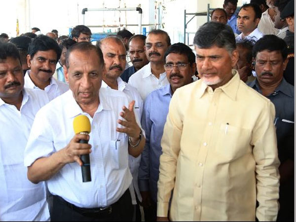 Chandrababu refuses accept for the division of High Court