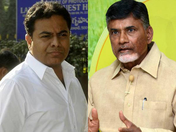 Follow KCR Formula: KTR to Chandrababu