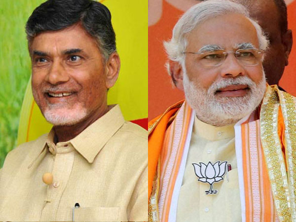 AP CM Chandrababu interesting comments on state division and BJP