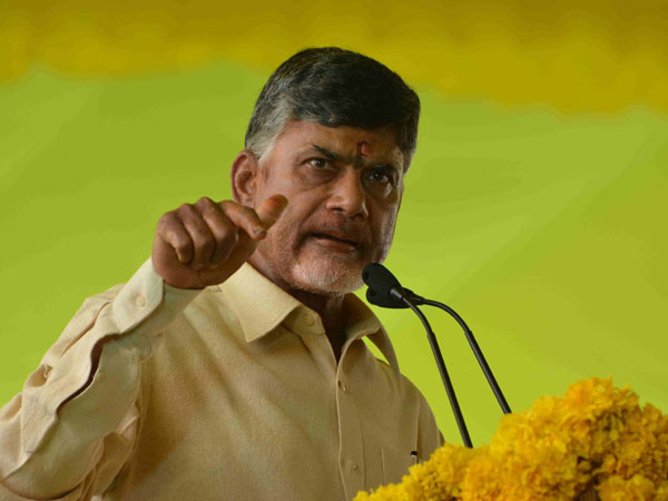 Chandrababu unhappy with MPs on the strategy in Rajya Sabha