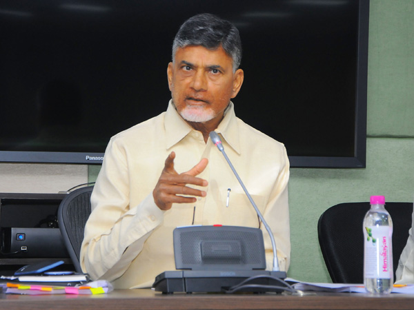 Chandrababu talks about Special Status with TDP MPs