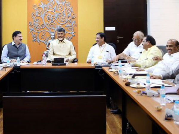 Chandrababu naidu called meeting with mps and party senior leaders tomorrow