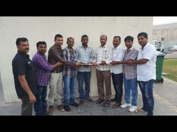 nri trs cell bahrain helps a youth