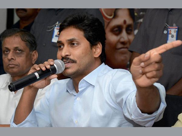 YS Jagan blames Modi and Chandrababu on special status to AP