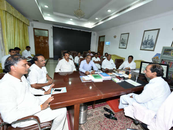 KCR welcomes Supreme Court decision on Palamuru project