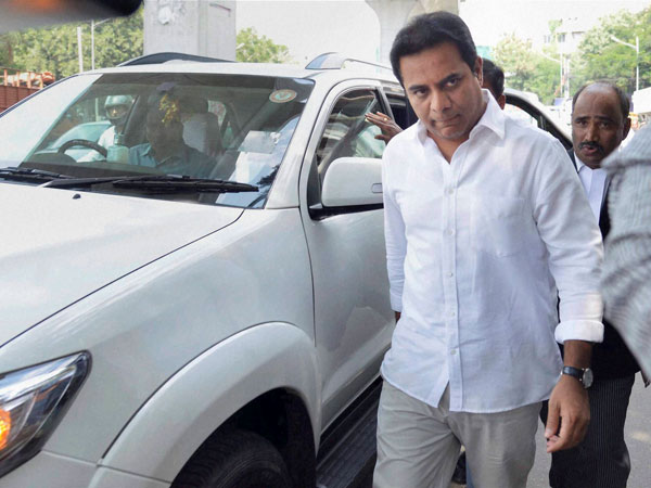 Minister KTR review meet with GHMC officials over City Hoardings issue