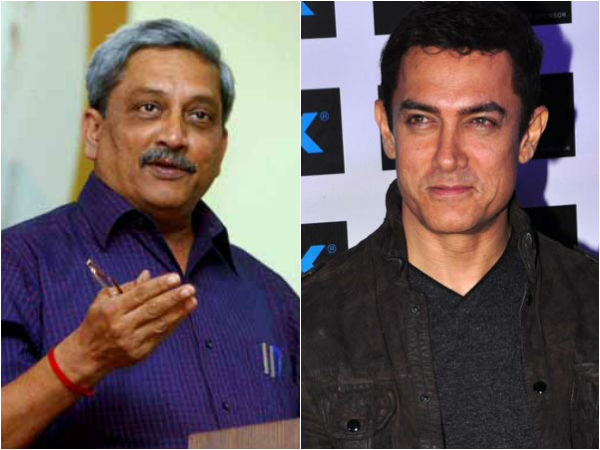 Defence Minister Manohar Parrikar Under Congress Attack After Jibe At Aamir Khan