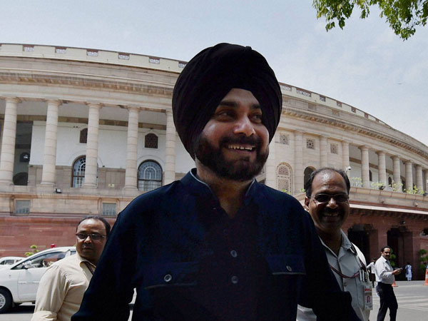BJP Rajya Sabha MP Navjot Sidhu resigns, likely to join AAP