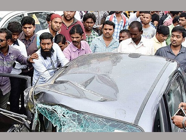Panjagutta Accident: Ramya grand father died