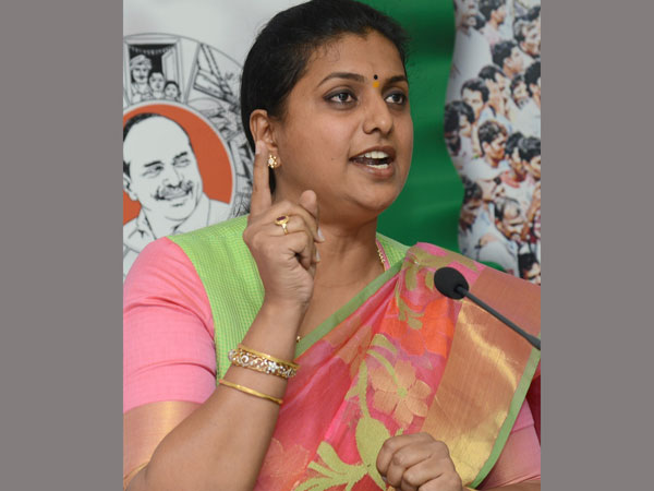 Ysrcp Mla roja fires on Chandrababu over trafficking cases in Andhra pradesh