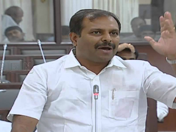 MLA Srikanth Reddy suspects Chandrababu foreign tours
