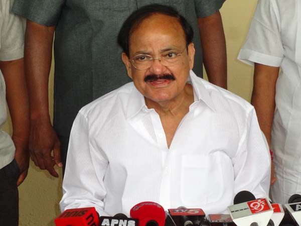 Venkaiah Naidu catches latercomers off-guard, surprise check at I&B ministry