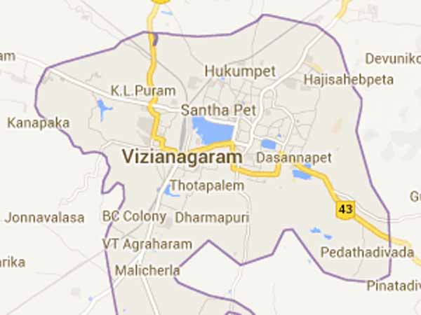 harassment to girl students in vizianagaram