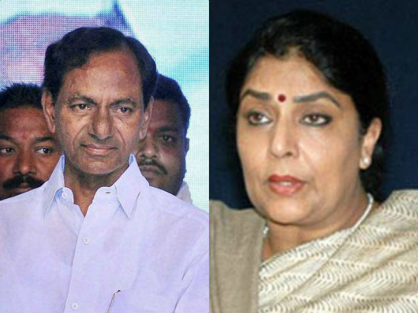 Renuka Chaudhary lashes out at CM KCR