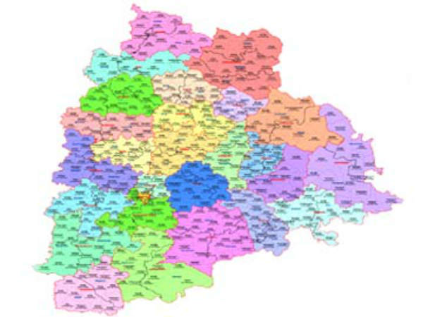 తెలంగాణలో ప్రతిపాదిత కొత్త జిల్లాల మ్యాప్లు విడుదల