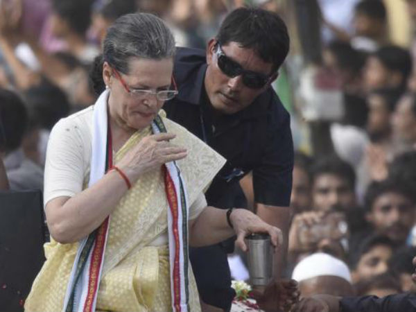 Sonia Gandhi undergoes shoulder surgery, will be out of ICU today
