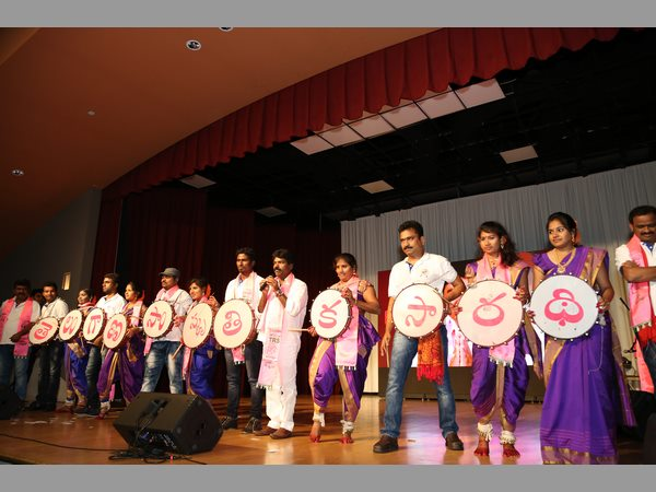TELANGANA DHOOM DHAAM in california milpitas community centre