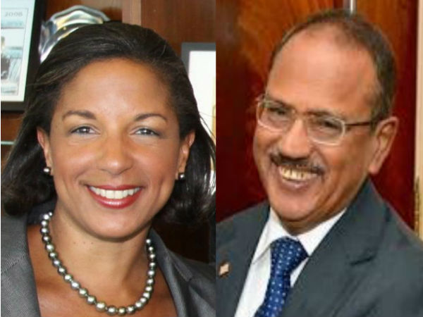 Susan Rice calls Doval, assures support in war against terror