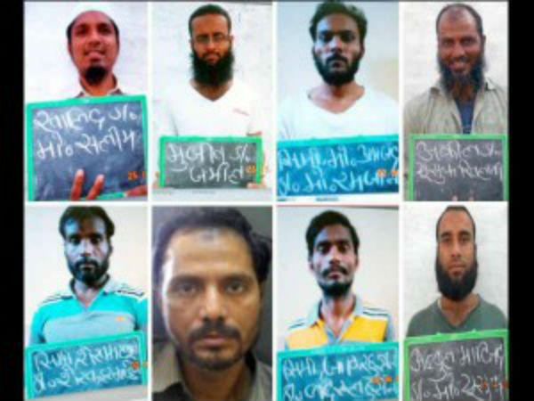 Simi Terrorists Who Escaped Bhopal Central Jail Killed Enc
