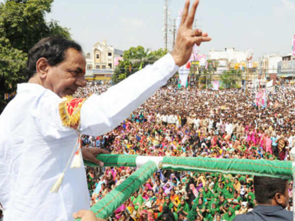 Opposition will secures 7- 8 seats only says cm kcr