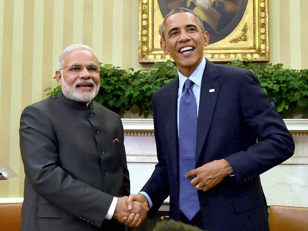 Paris deal:India committed, says PM Narendra Modi as Obama tweets Praise