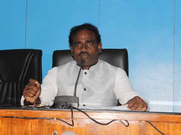 Minister Ravela Again A Controversial Issue