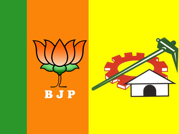 BJP-TDP tie up effects those two MLAs