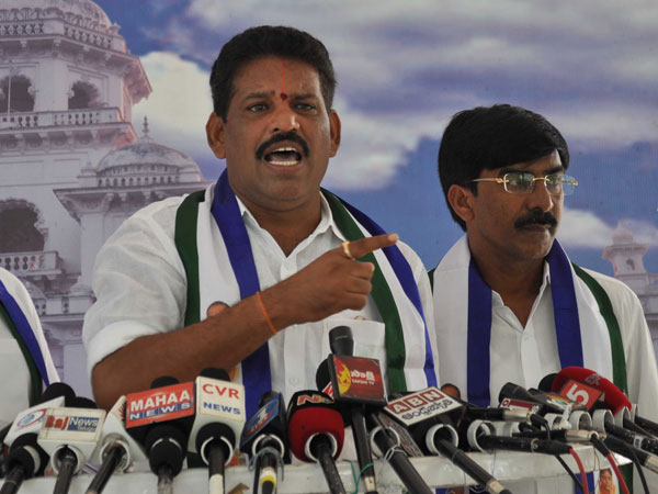YSRCP leader Chevireddy Bhaskar Reddy takes on AP CM Chandrababu Naidu.