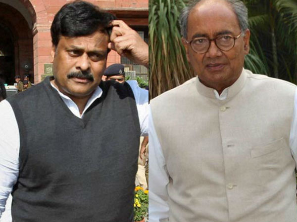 Chiranjeevi may noy not join in TDP: Digvijay Singh