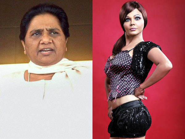 If Mayawati Contests Will Filed Rakhi Sawant Against Her R