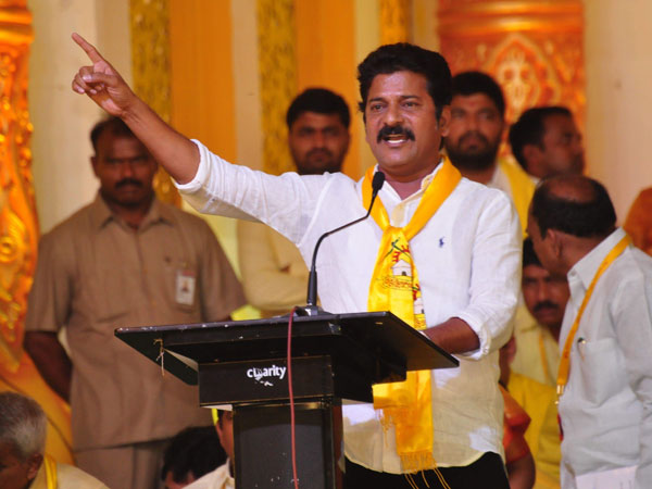 Revanth Reddy's stand in Telangana questioned