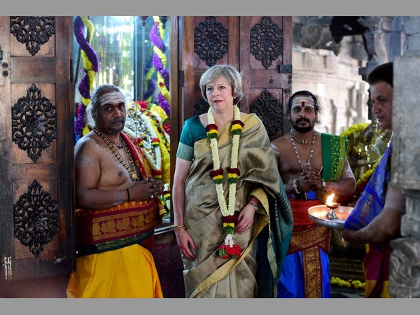 British Prime Minister Theresa May Visited The Sri Someshwar