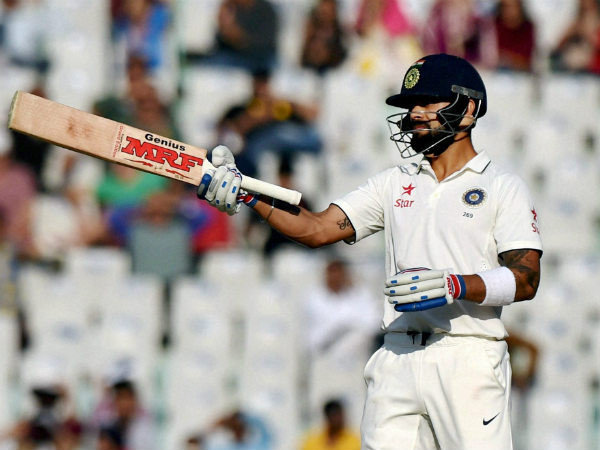 Indian captain Virat Kohli achieves another high in Test career