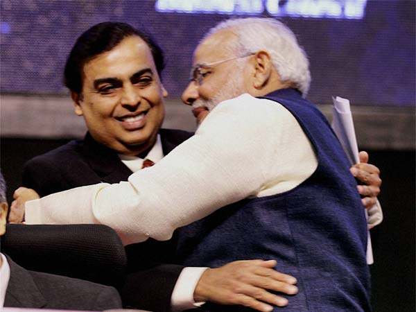 Congratulate PM Modi on demonetisation decision, says Mukesh Ambani.