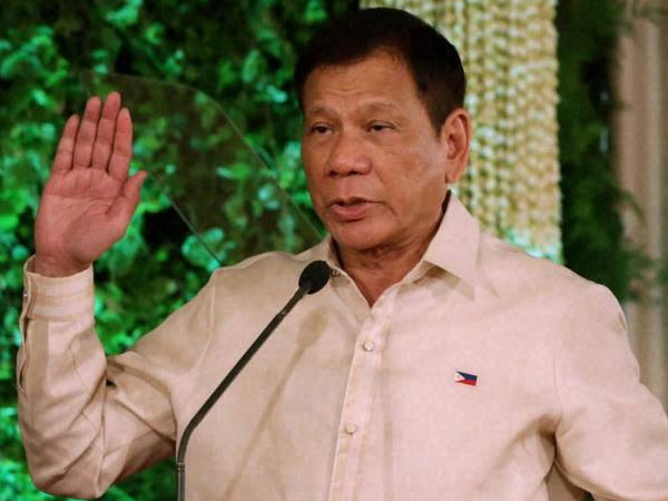Philippines president Duterte: I threw a man from a helicopter