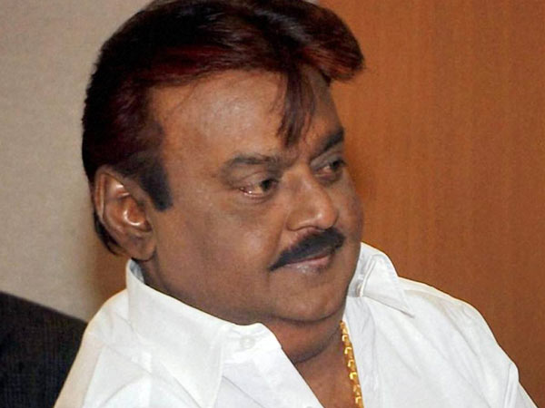 Sudden surprise of DMDK Vijaykanth