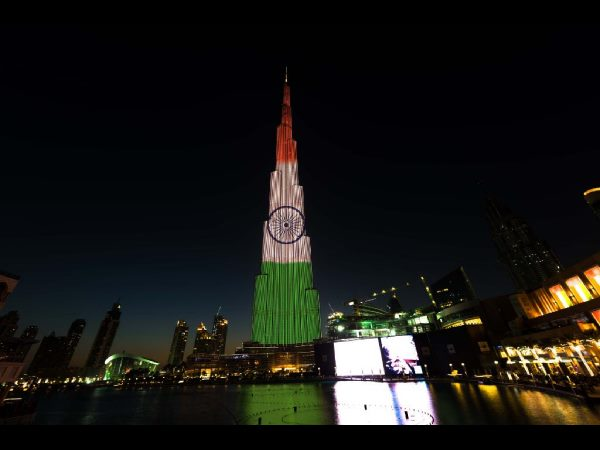 Burj Khalifa glows with Tricolour to mark India's Republic Day