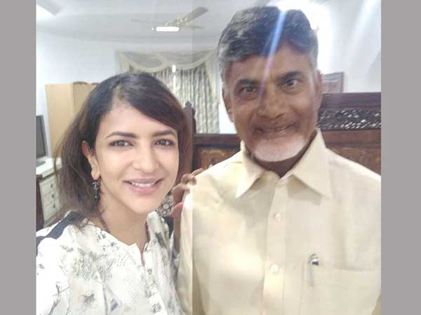 Manchu Lakshmi On Chandrababu