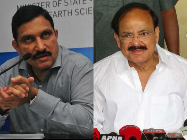YSRCP lashed out at Venkaiah and Sujana