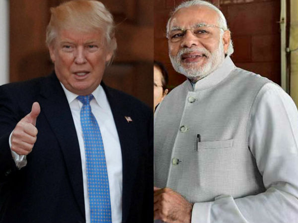 Narendra Modi Donald Trump Speak Over Phone White House