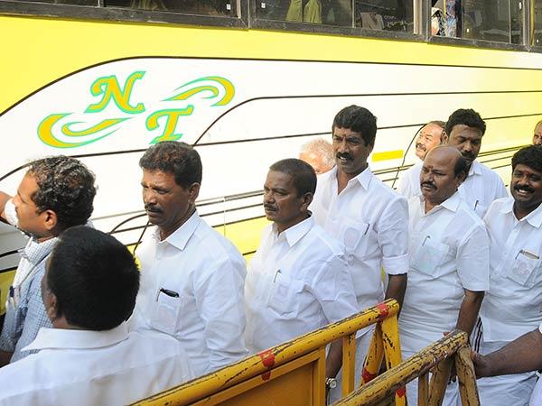 Aiadmk Mlas Jailed Koovathoor Resort The Mannarkudi Team