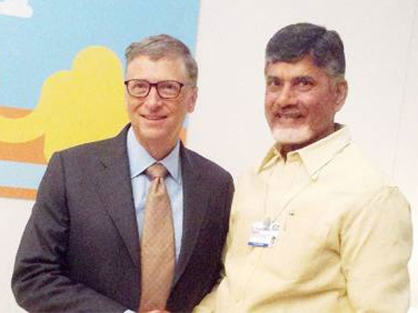 Chandrababu Naidu Invites IT Companies to Invest in Andhra Pradesh