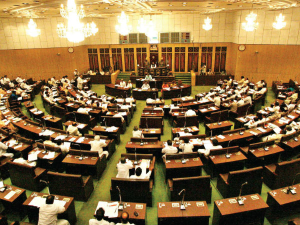 ysrcp protest in assembly, assembly postponed
