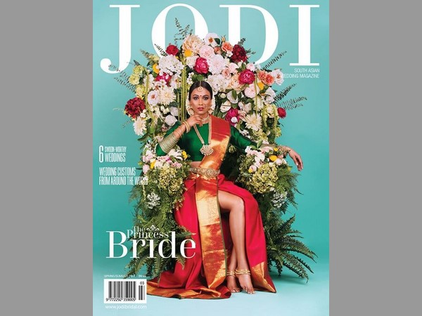 Tamil Bride Wearing Saree With Slit Canadian Magazine Sparks