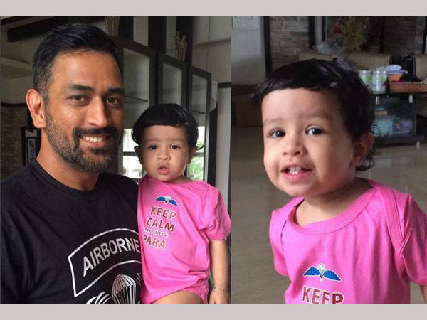 Watch: MS Dhoni's daughter learns Indian Premier League team names in adorable video