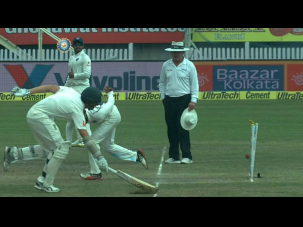 Ranchi Test: Ravindra Jadeja does a MS Dhoni as he effects brilliant Run Out