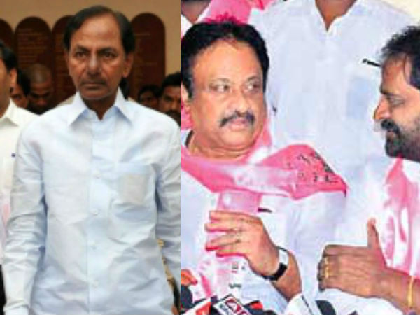 conflicts between mla srinivas goud and mp jithender reddy on ministry