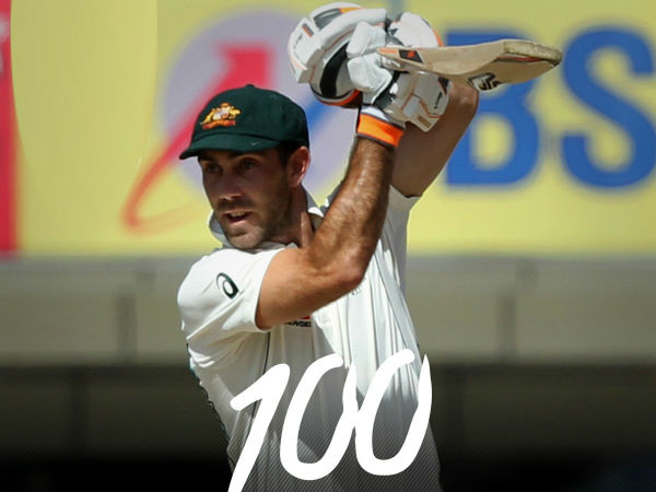 Glenn Maxwell's maiden ton completes trifecta of centuries