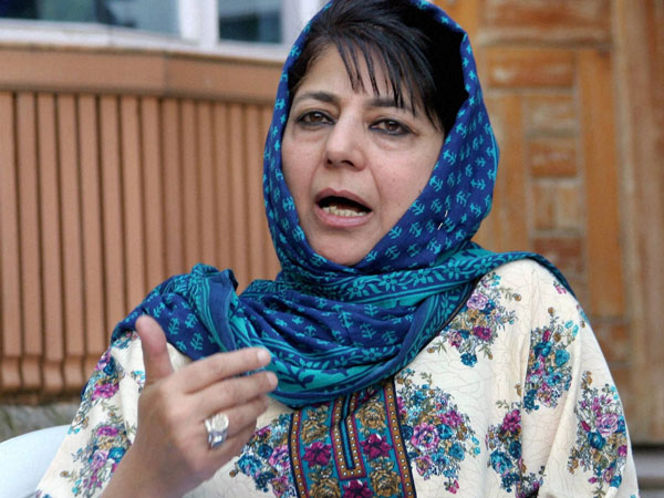 JK Chief Minister Mehbooba Mufti asks local militants to give up arms